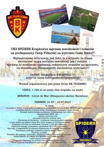 plakat hiszpania Lloret de Mar